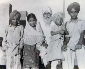 1.4 Karanjit(Billoo), Bikram, Prof. Piara Singh Gill, Rana & Jang - Jagat Pur(Nawan Shehar), India - 1956