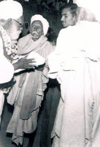 Jawala Singh in RASAM MILNI at his grandson Ravinder Ravi's Wedding Chhokran, India - December 4, 1960