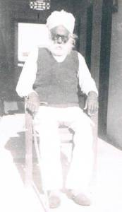 Ravinder Ravi's grand father Jawala Singh - Jagat Pur, India - December 5, 1960