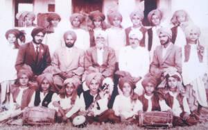 Jagat Pur School Bhangra Club - 1956-57