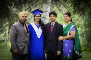 10.  Saihajpal, Priya, Saagar and Manveen - 2014