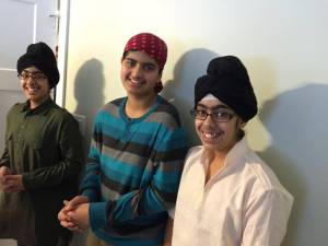 3.1 Ravi's grandsons Qurbaan, Saagar and Eimaan - Prince George, BC, Canada - January 11, Pic by Ravinder Ravi